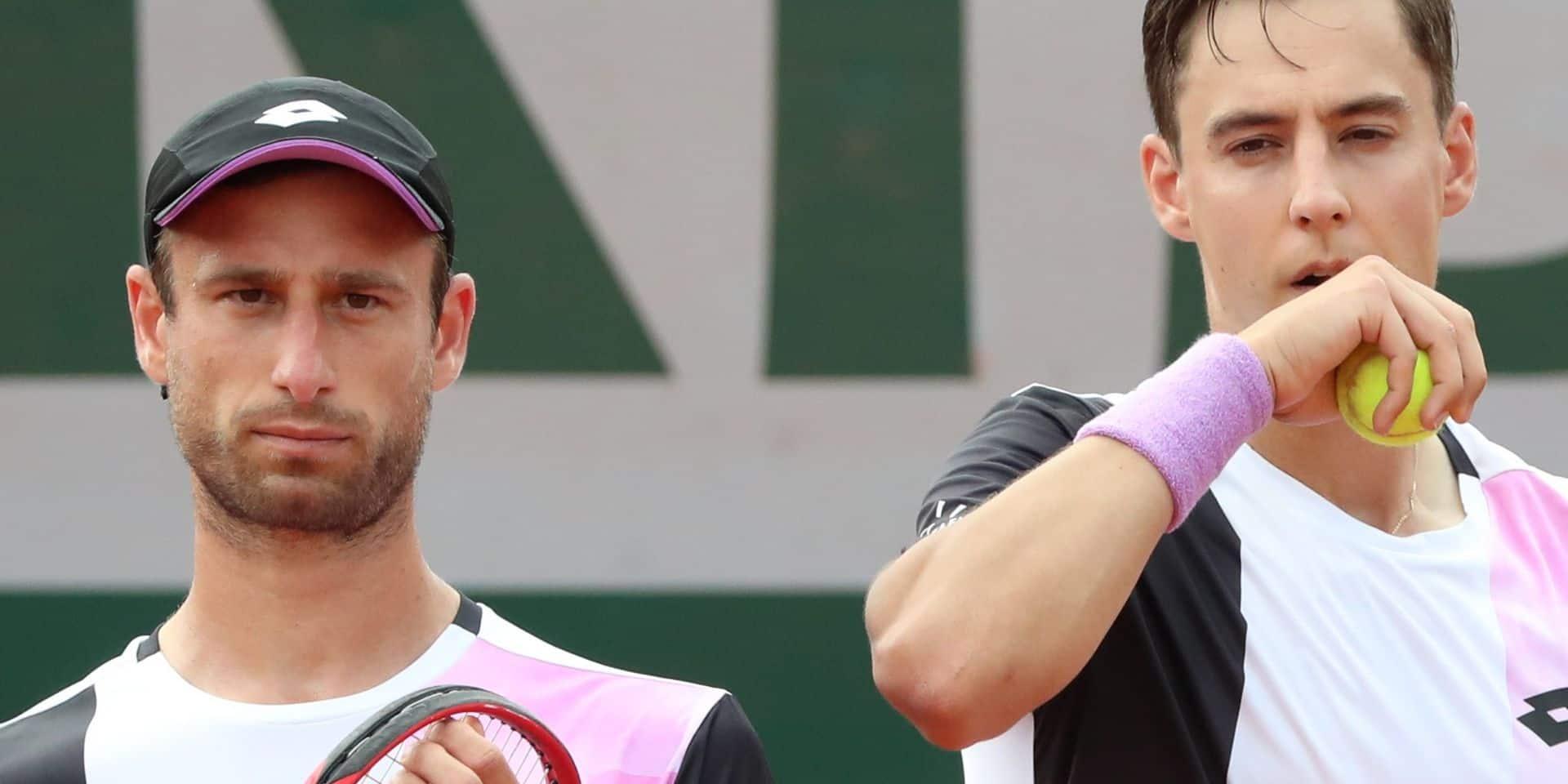 Wimbledon: Sander Gillé et Joran Vliegen éliminés dès le premier tour en double