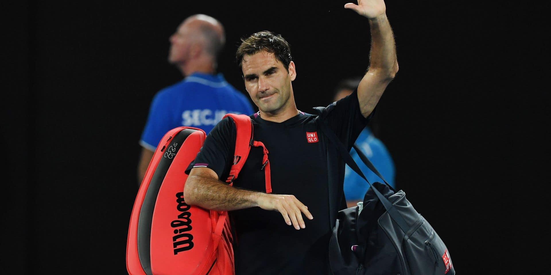 """Roger Federer fête ses 39 ans aujourd'hui et ne compte pas s'arrêter de sitôt: """"Je ne le vois pas prendre sa retraite la saison prochaine"""""""