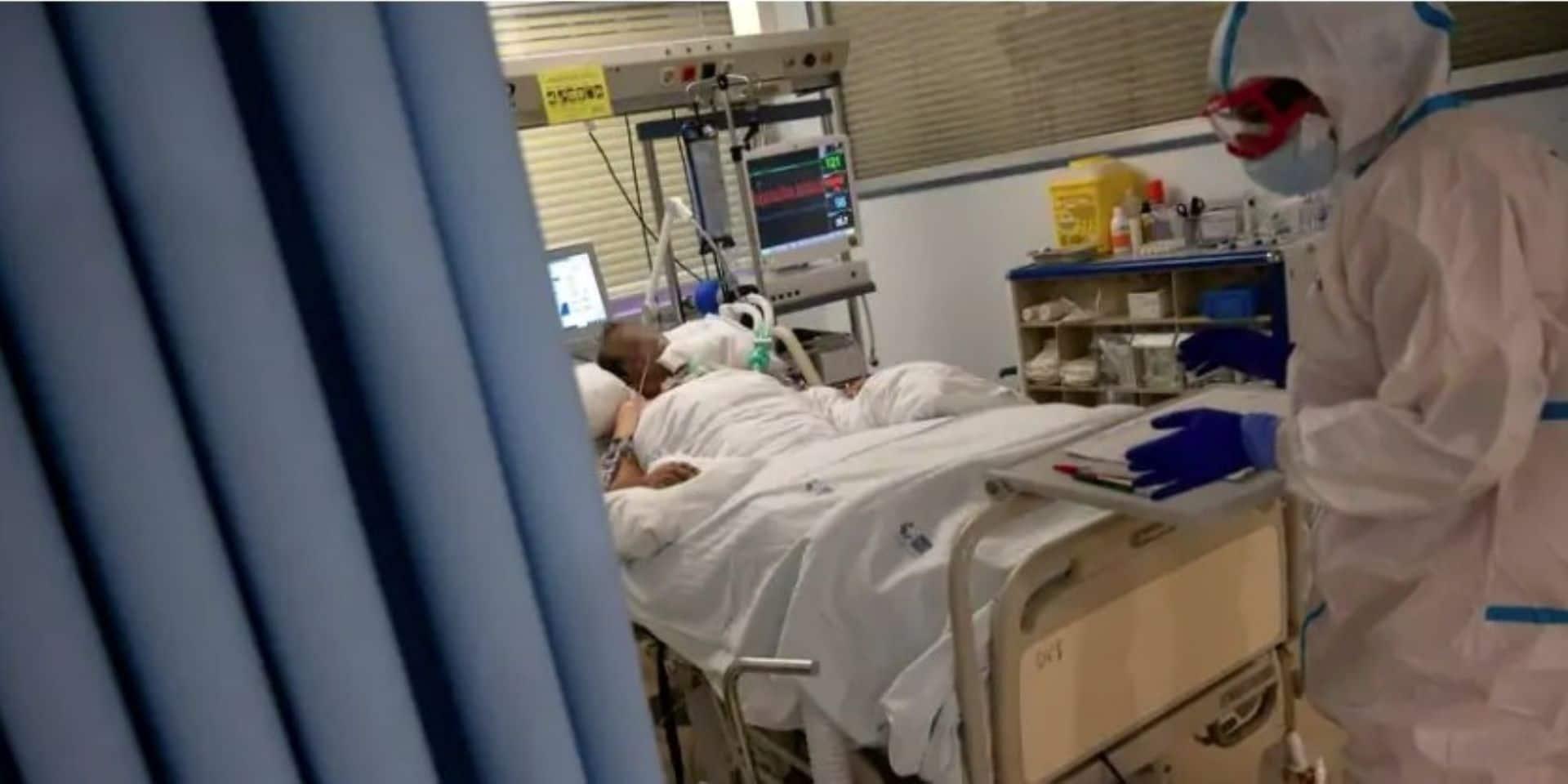 """Covid-19 : """"La pression sur les hôpitaux, en particulier aux soins intensifs, reste élevée"""""""