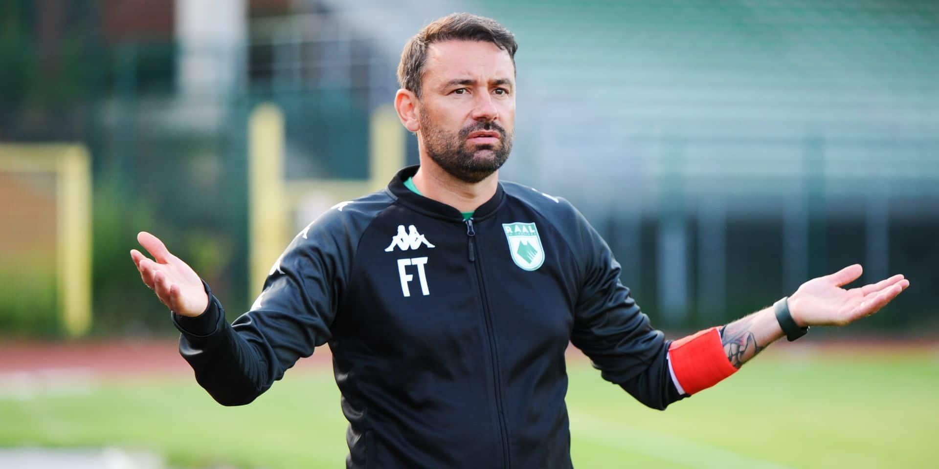 "Fred Taquin tempère après la victoire de la Raal : ""Les deux buts encaissés me dérangent un peu"""