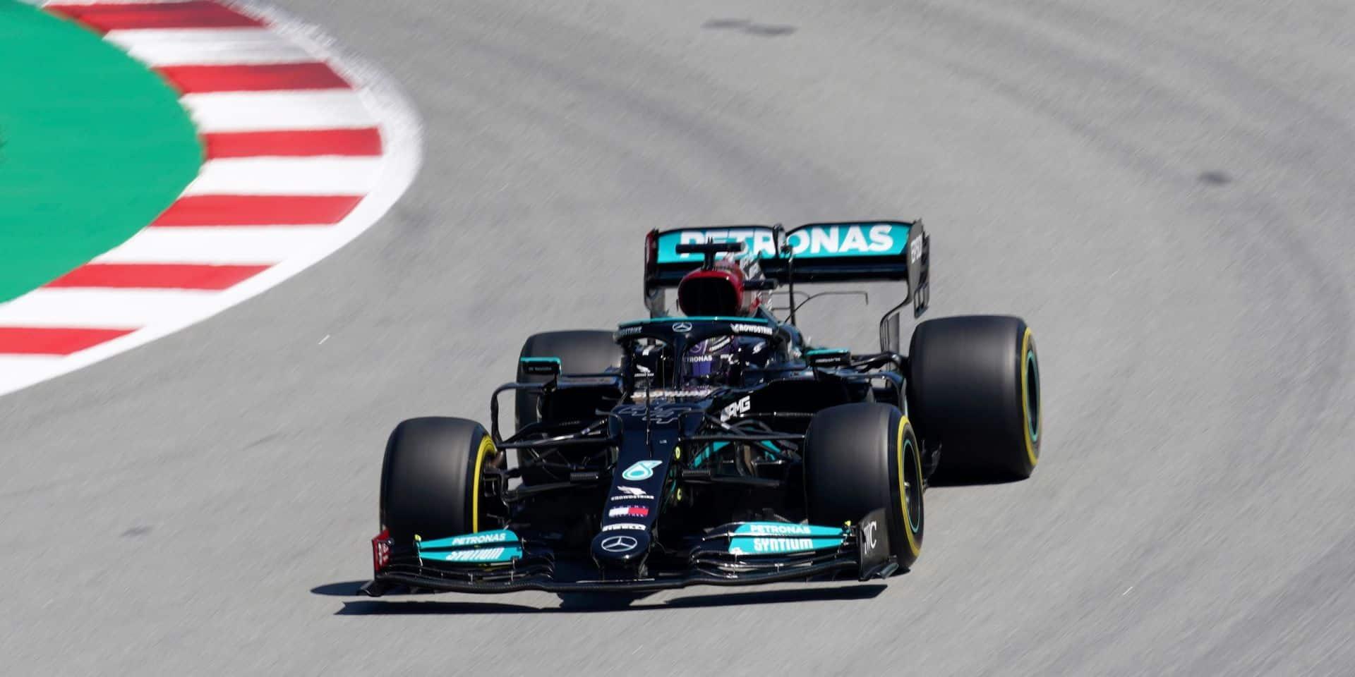 GP d'Espagne: Lewis Hamilton décroche à Barcelone la 100e pole position de sa carrière