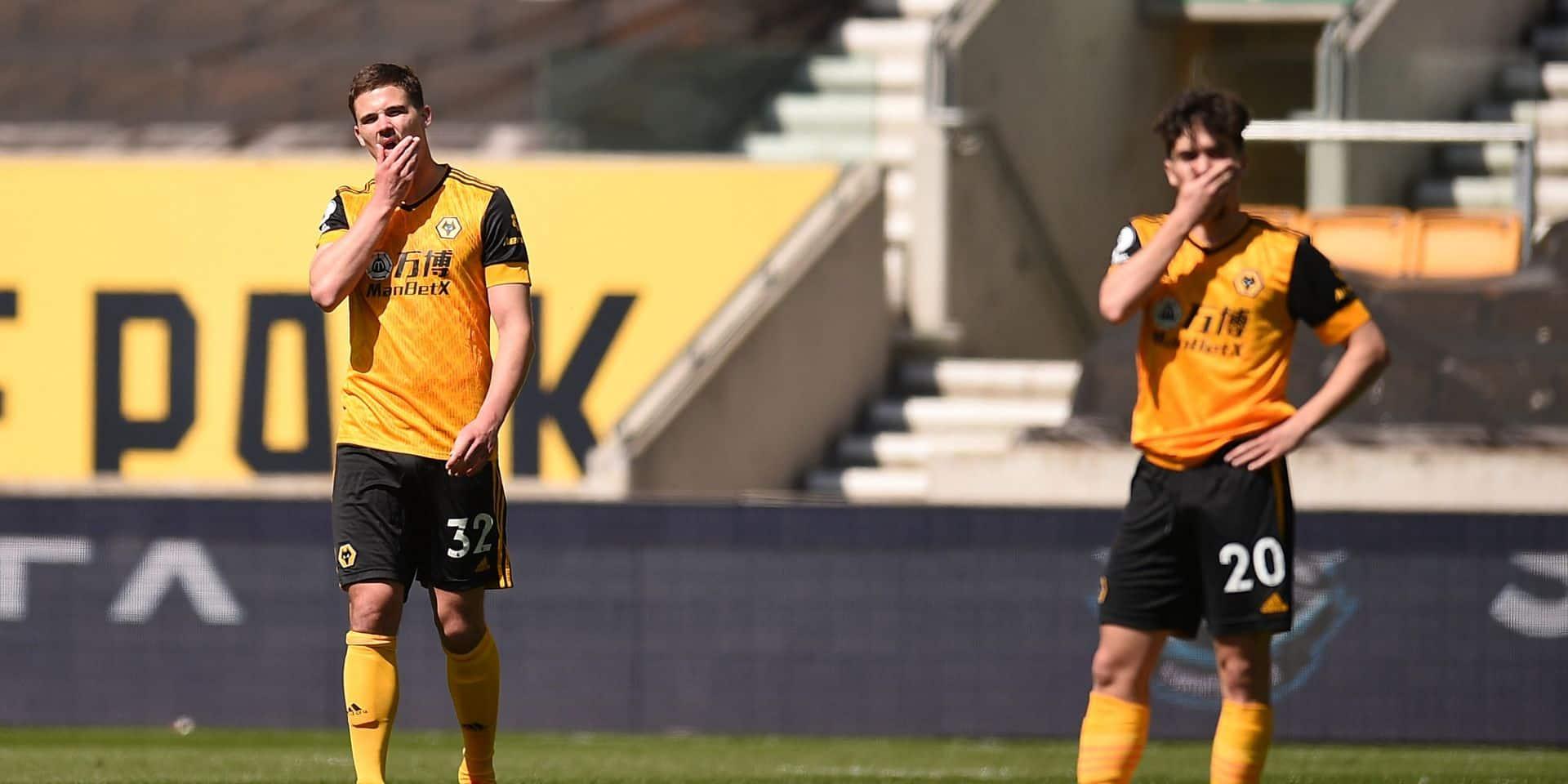 Les Belges à l'étranger: Leander Dendoncker et Wolverhampton giflés à domicile par Burnley (0-4)