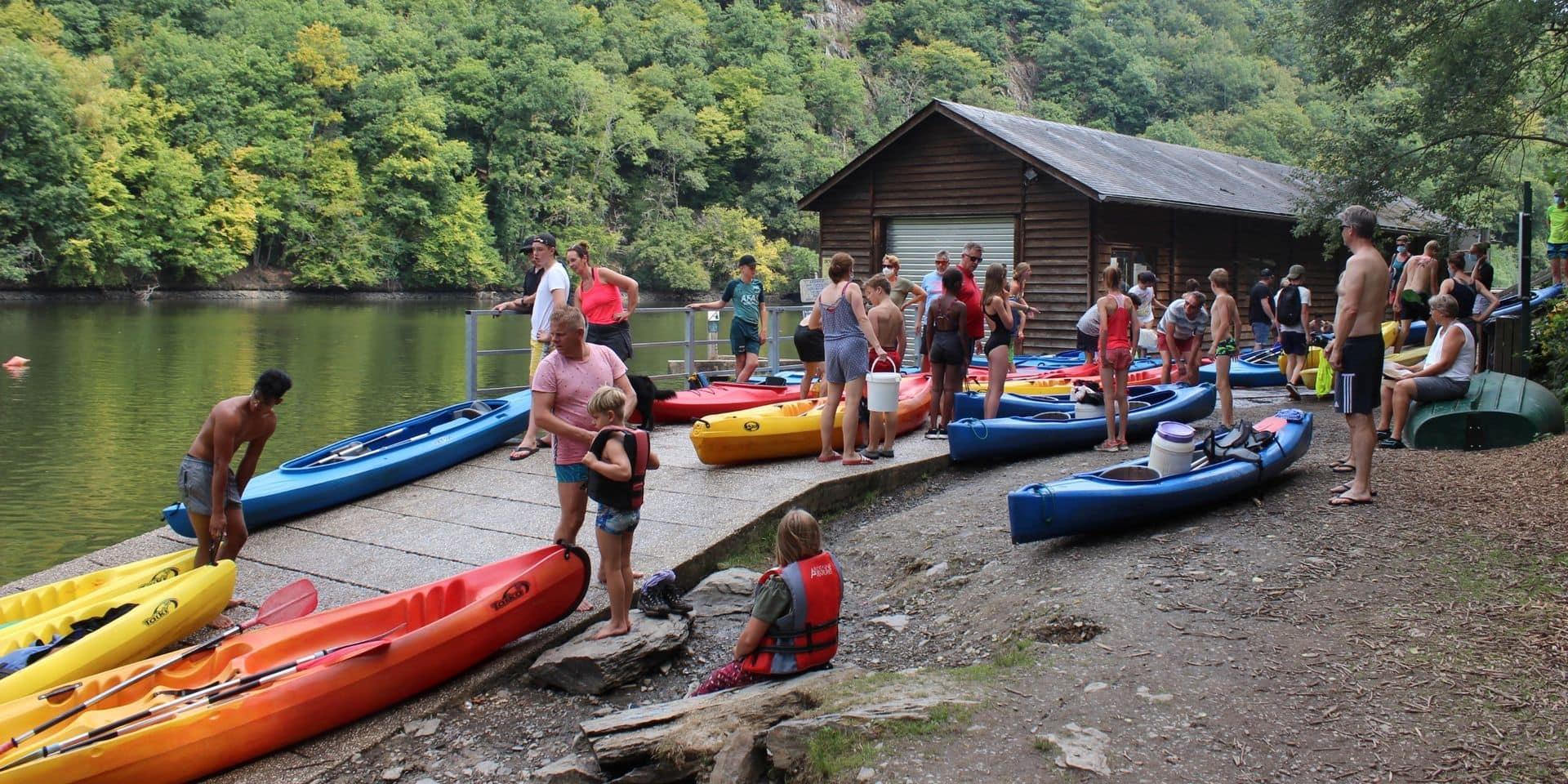 Kayak sur l'Ourthe et la Semois: un début de saison mitigé
