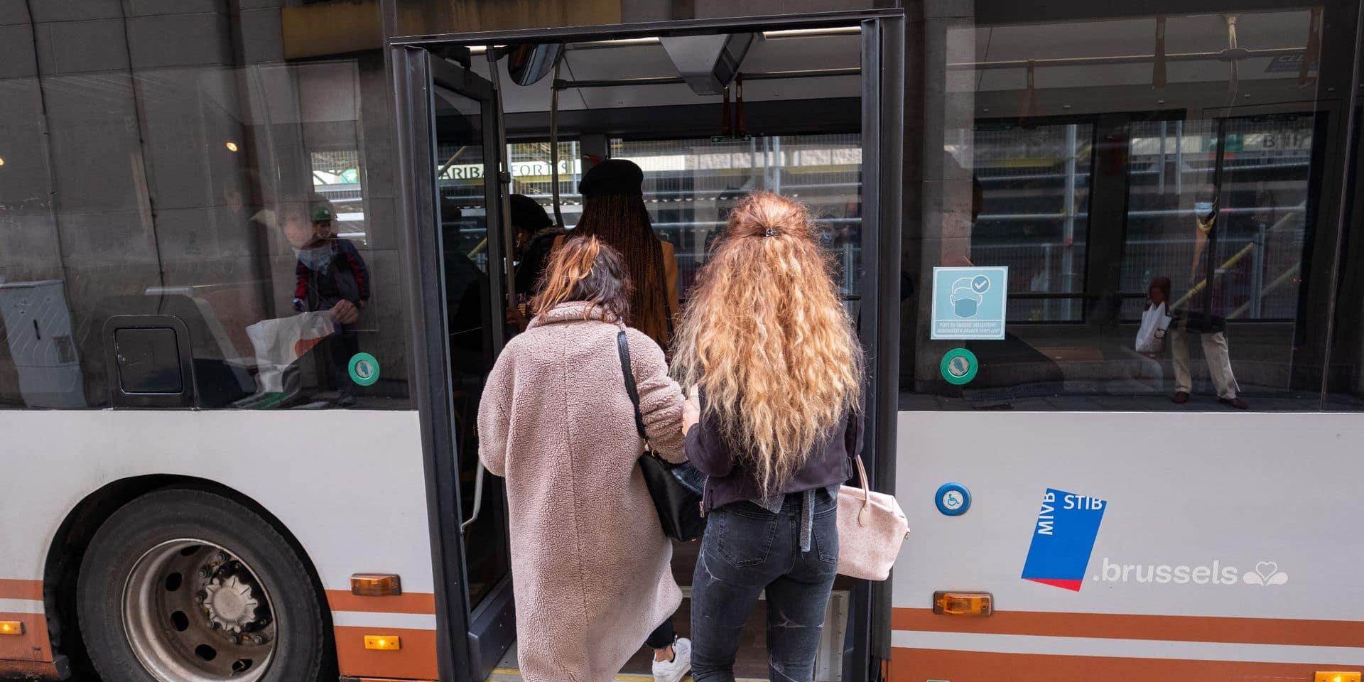 La STIB constate une diminution du nombre de voyageurs, probable conséquence du télétravail