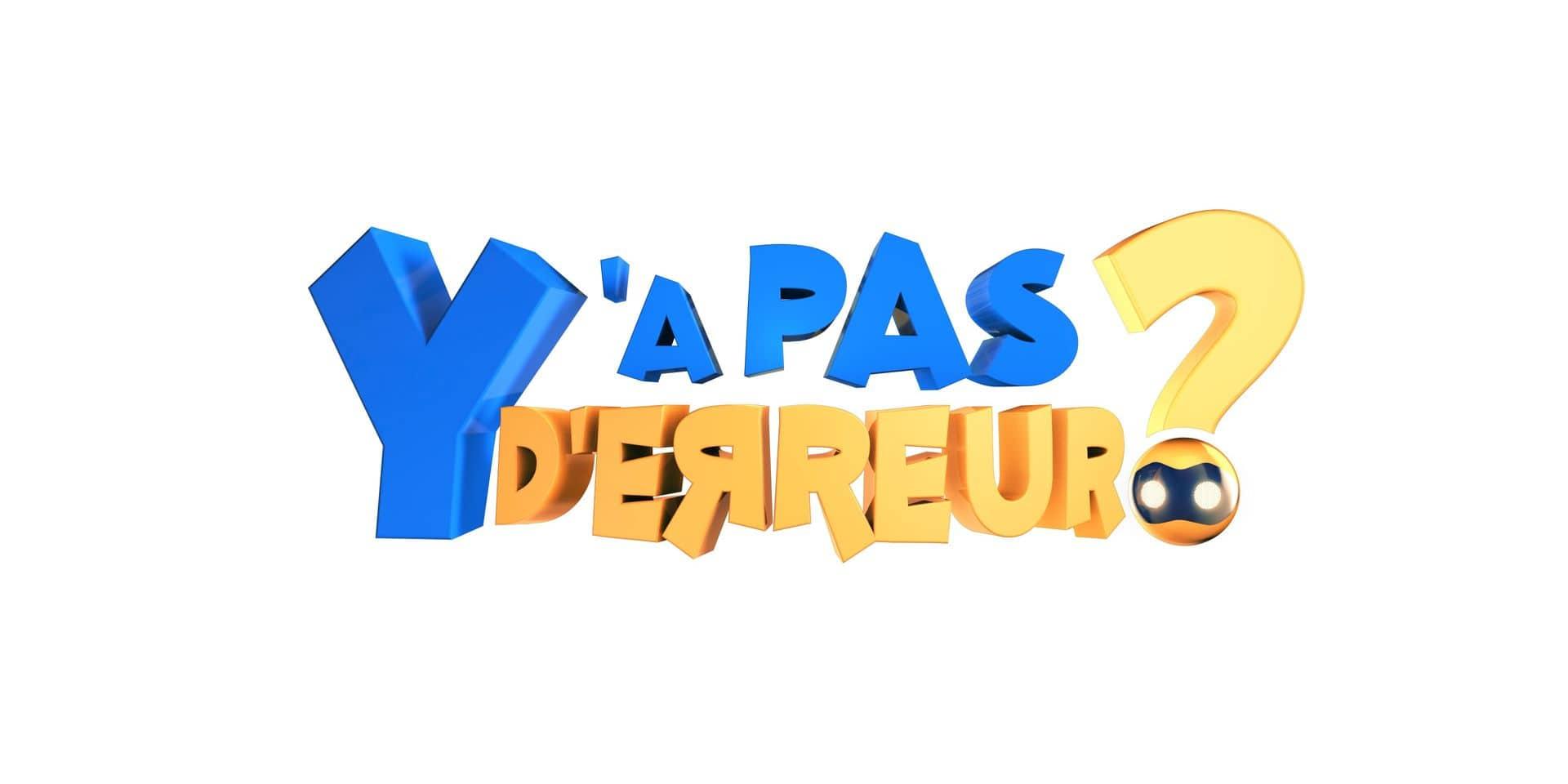 """Appel aux candidats belges : le casting de """"Y a pas d'erreur"""", le nouveau jeu de France 2, est ouvert"""