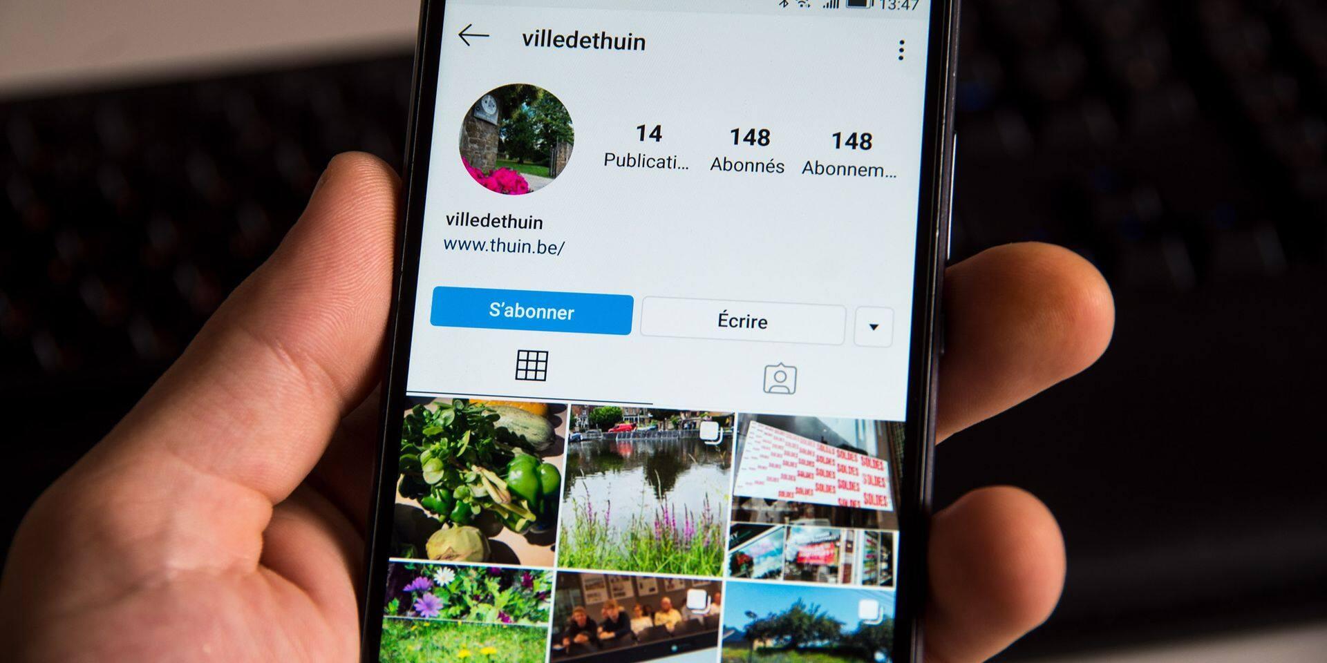 Thuin se lance sur… Instagram !