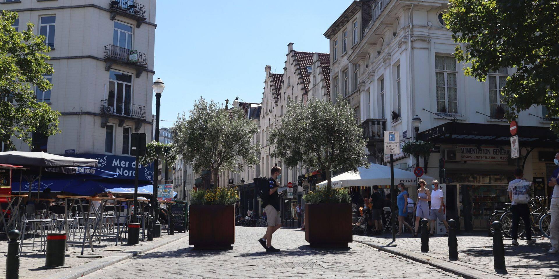 La rue Sainte-Catherine interdite aux voitures