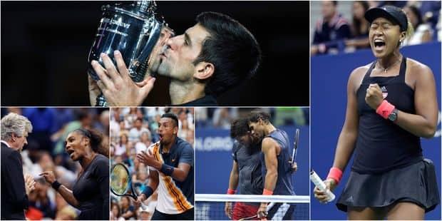 US Open: retour sur les moments forts de la quinzaine (VIDEOS) - La DH