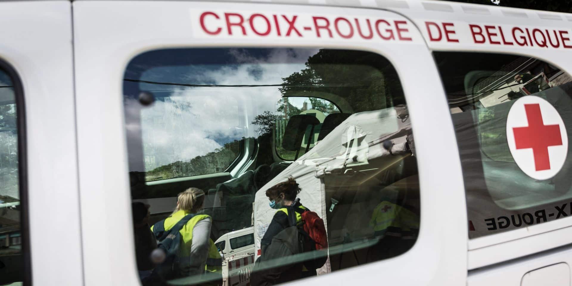 La Croix-Rouge de Belgique consacre 12 millions d'euros pour aider les sinistrés