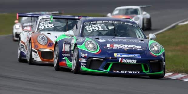 Lancement d'un Volant Porsche GT3 Cup Challenge Benelux - La DH
