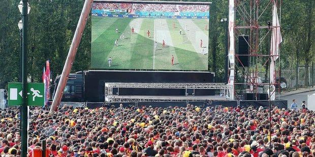 Mondial : Où suivre le Mondial sur écran géant dans la capitale ? - La DH