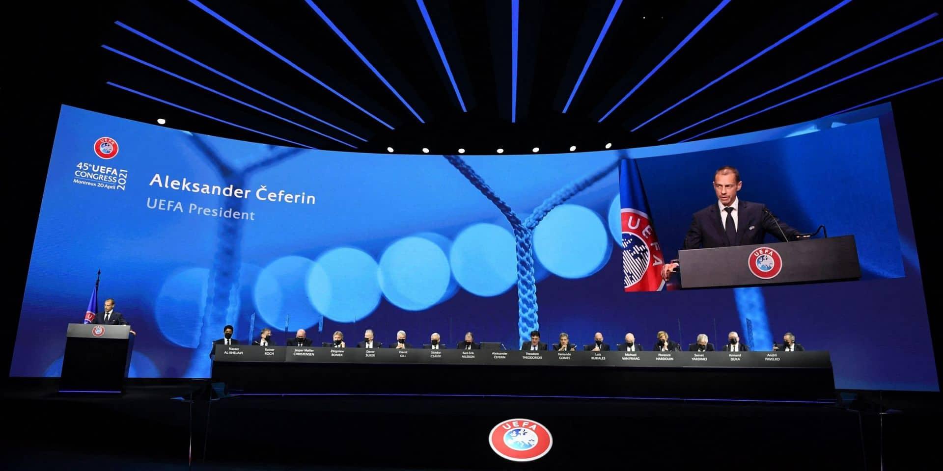 """L'UEFA espère un Euro """"aussi normal que possible"""" et """"ne prendra pas de risque"""""""