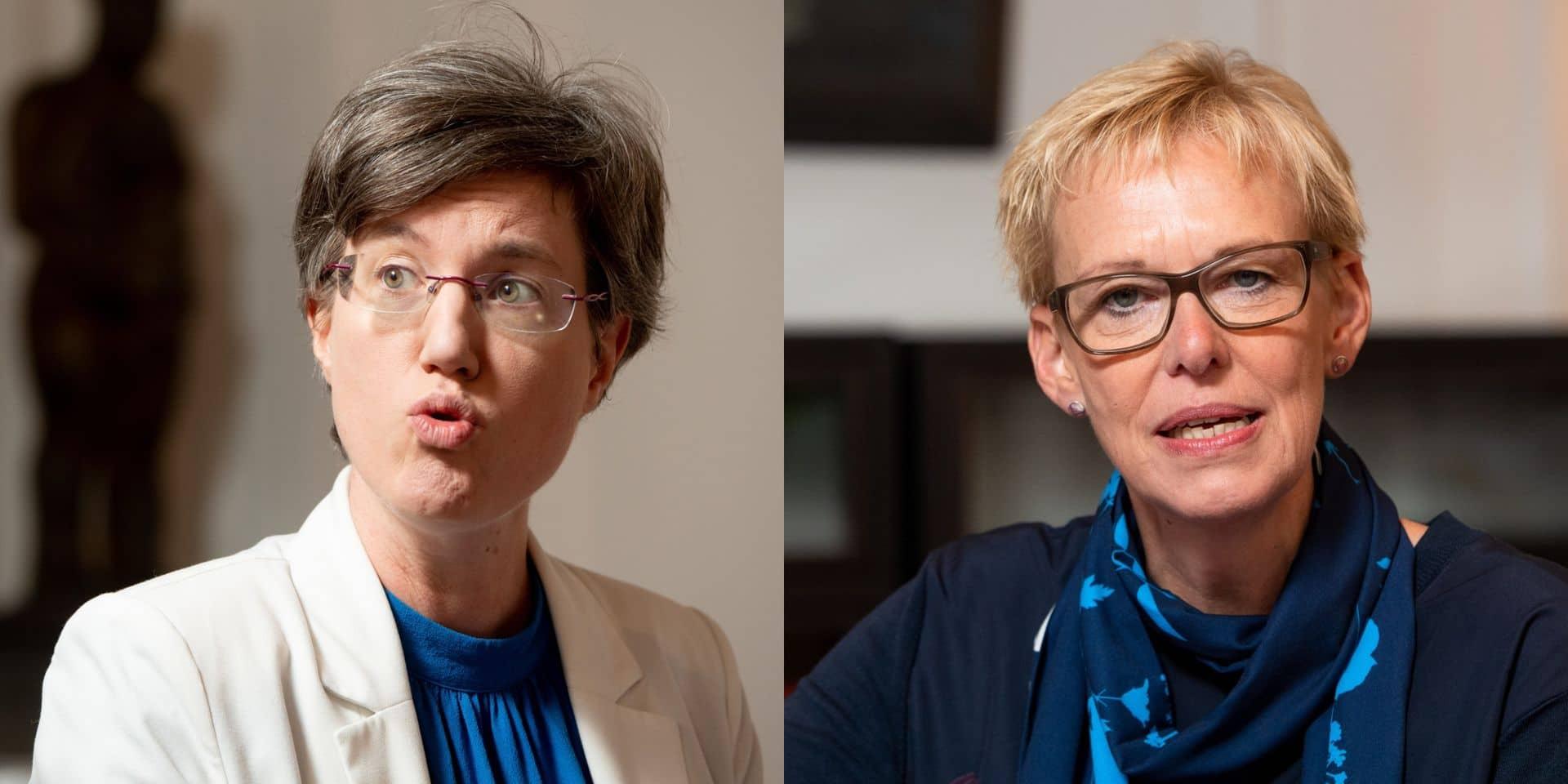 Fédération bruxelloise du PS: Catherine Moureaux et Karine Lalieux ne sont plus candidates à la vice-présidence