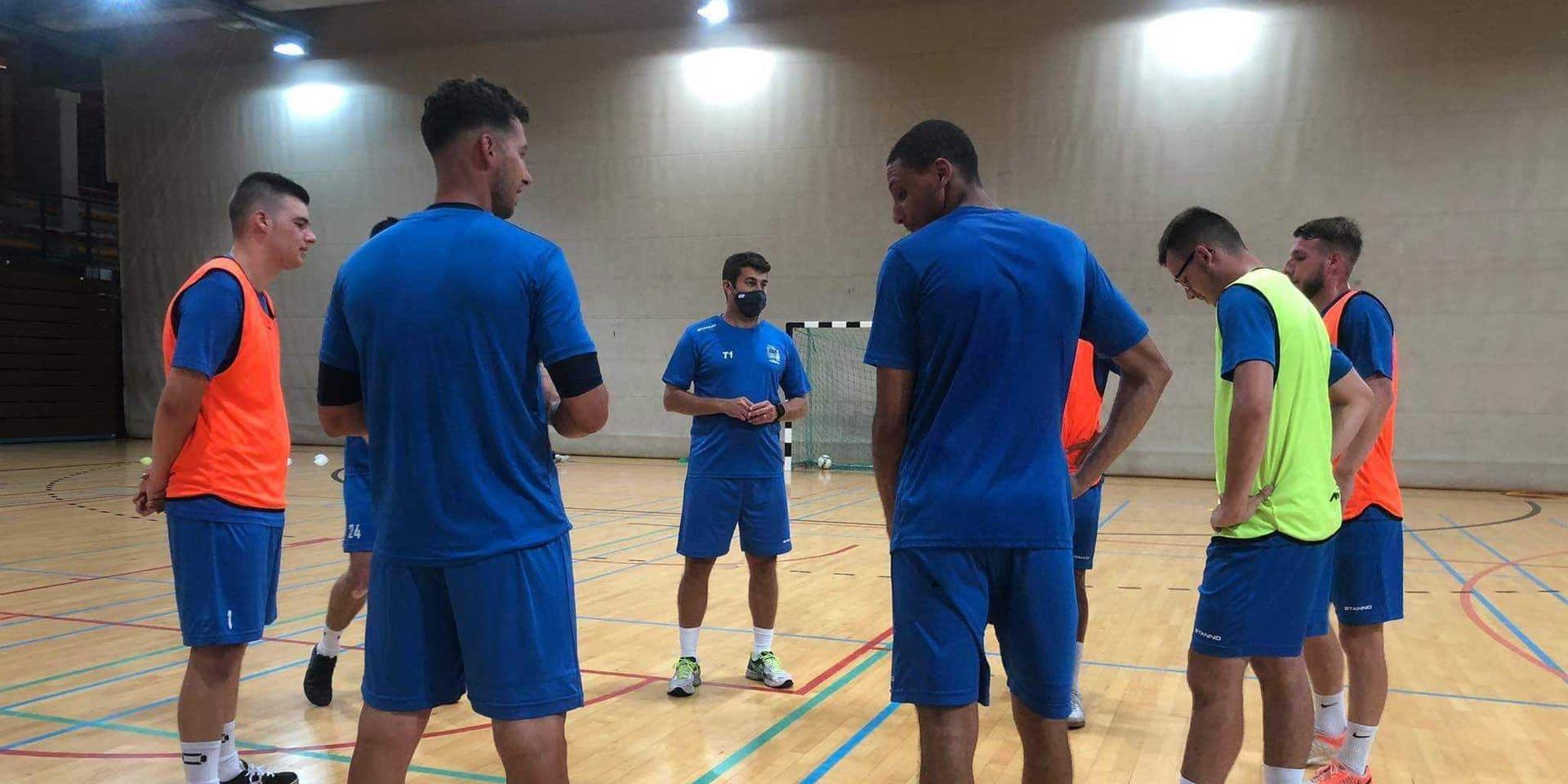 """Futsal Team Charleroi a repris le chemin des entrainements: """"Tous les tests sont négatifs"""""""