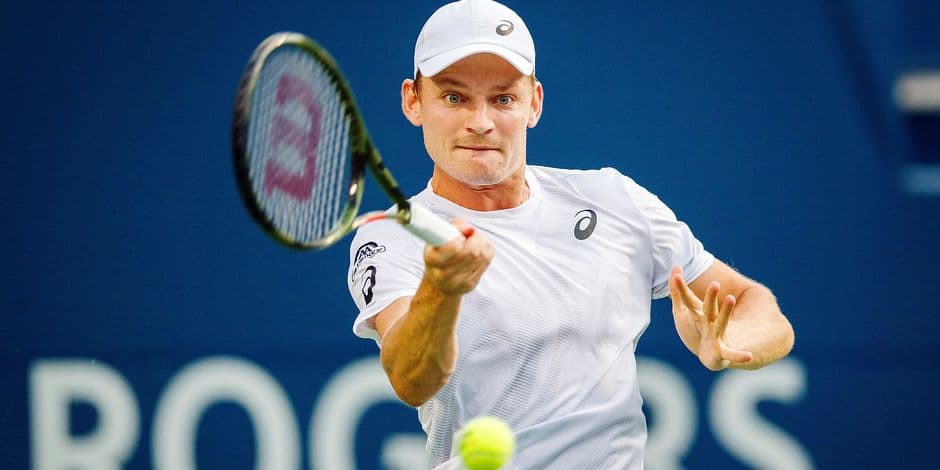 ATP Washington: Goffin battu en deux sets par Tsitsipas