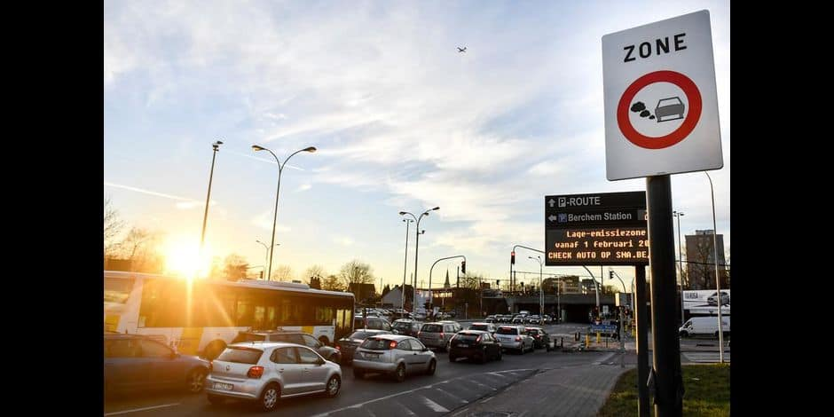 Zone basses émissions : environ 100 000 véhicules interdits de capitale dans six mois