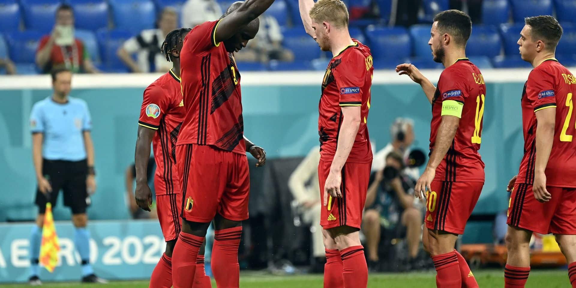 La Belgique attend toujours son adversaire en huitièmes de l'Euro