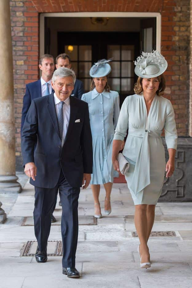 Les parents de Kate Middleton, Michael et Carole.