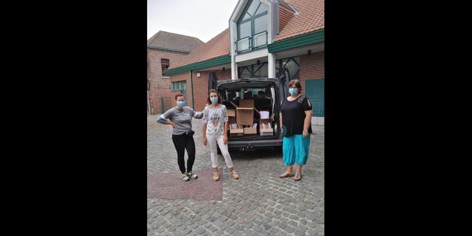 Brunehaut: la distribution des masques a commencé
