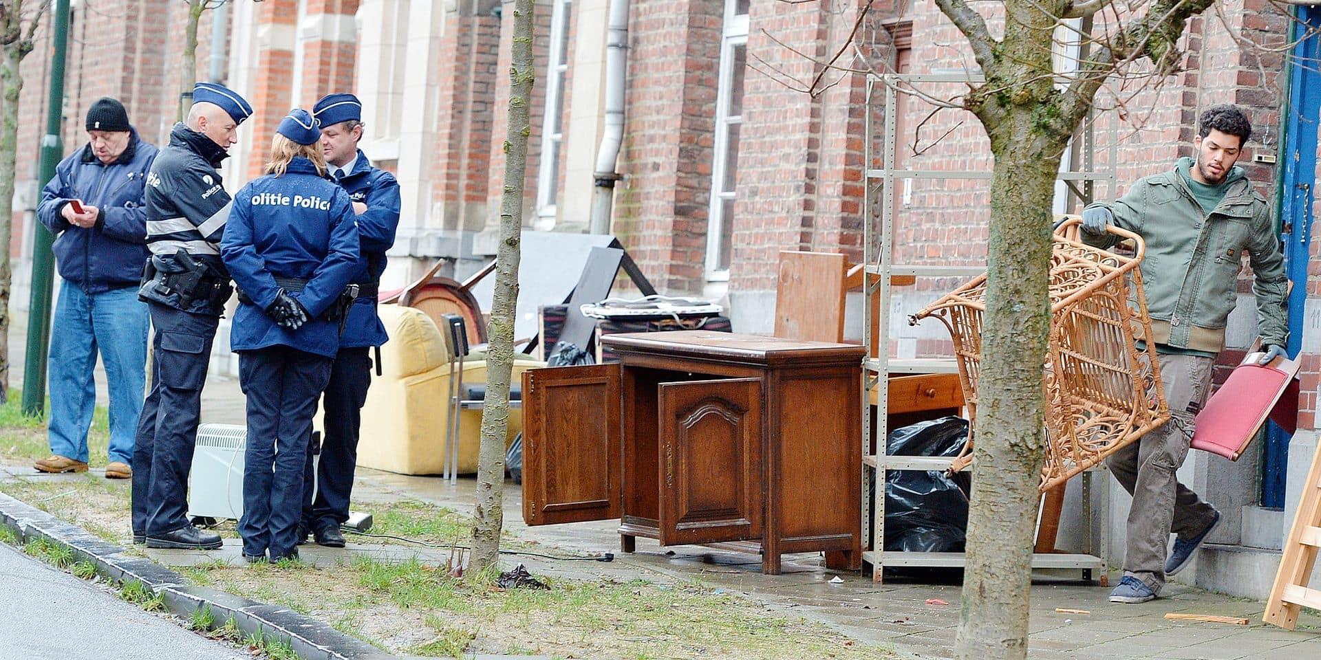 Expulsion squat logement sociaux Ixelles
