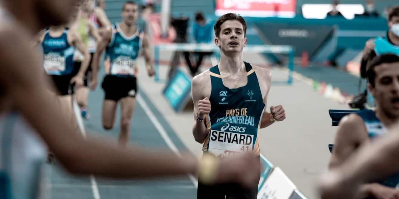 L'Esneutois Antoine Sénard est champion de France espoir sur 3000 indoor