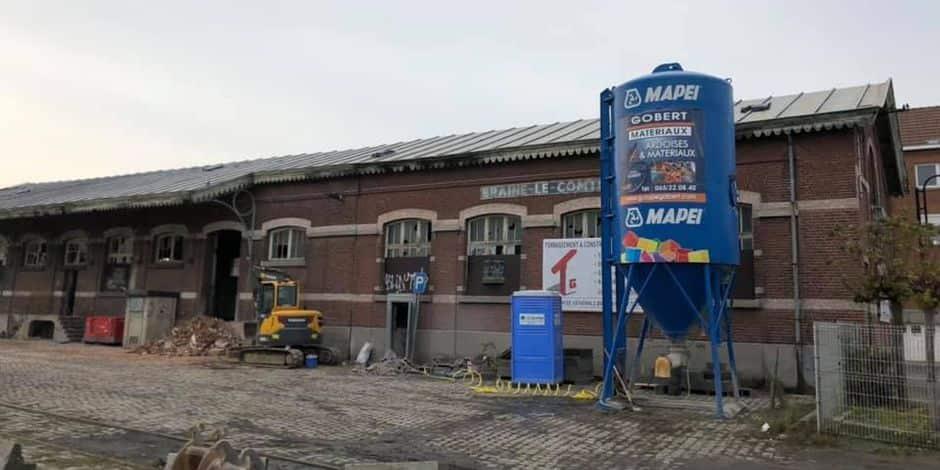 Braine-le-Comte: le hangar à marchandises se transforme en restaurant de 250 places
