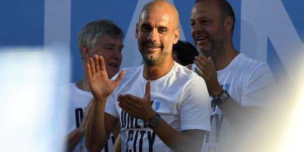 Guardiola choisi par ses collègues comme meilleur entraîneur de la saison en Premier League - La DH