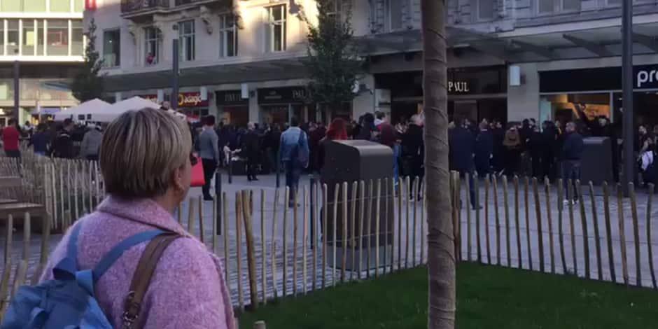 Anderlecht - Dinamo Zagreb: les supporters croates se font remarquer dans le centre de Bruxelles (VIDEO)