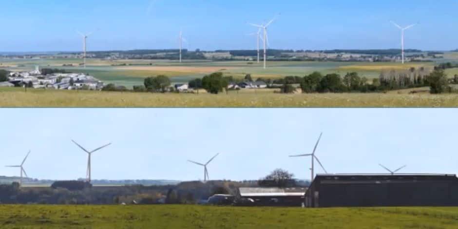 Six éoliennes à l'enquête publique à Walcourt