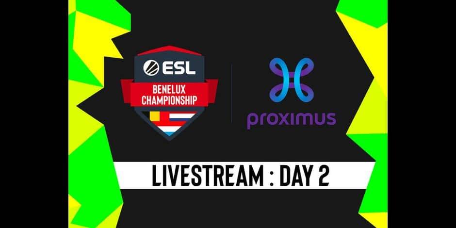 Les matchs de la 2ème journée de l'ESL Proximus Benelux Championship se disputent en prolongations