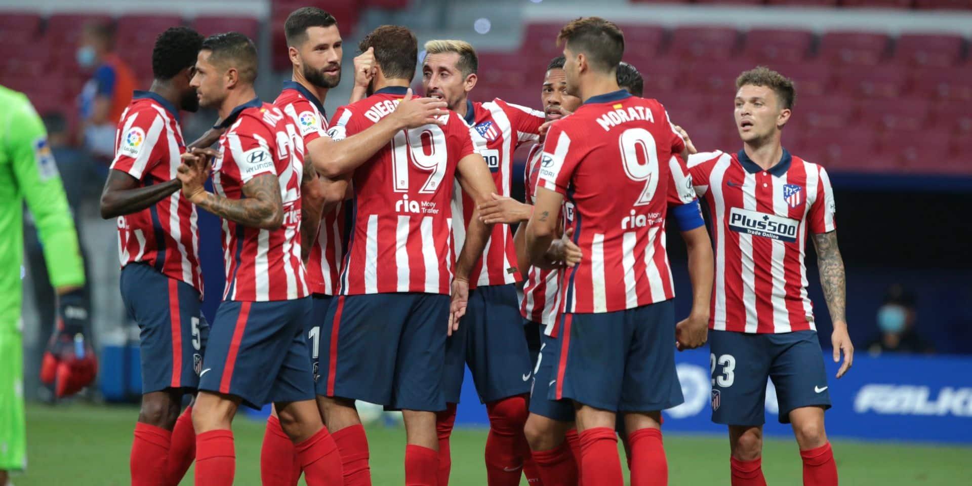 Ligue des Champions: deux cas positifs au Covid-19 à l'Atlético Madrid à 4 jours des quarts de finale