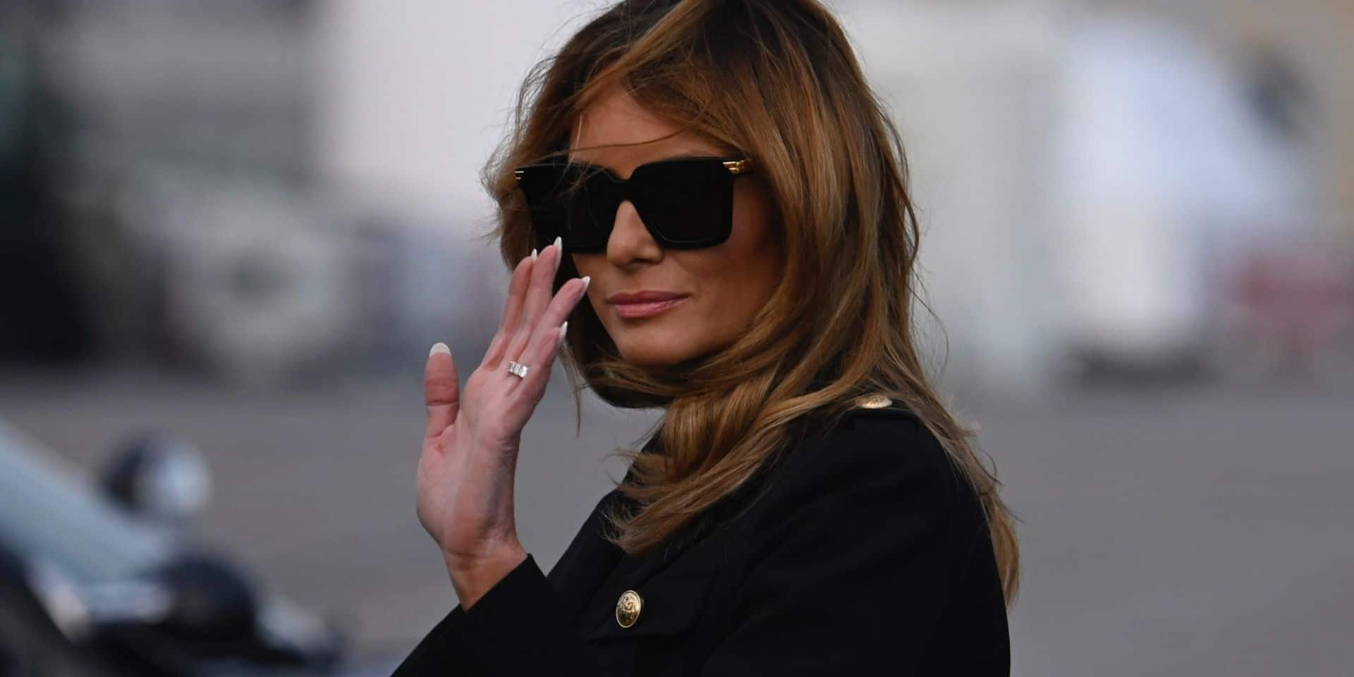 """Melania compte les minutes qui la séparent d'un divorce avec Donald Trump"""