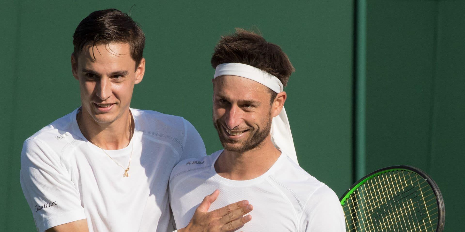 ATP Winston-Salem: Sander Gille et Joran Vliegen en demi-finales du double