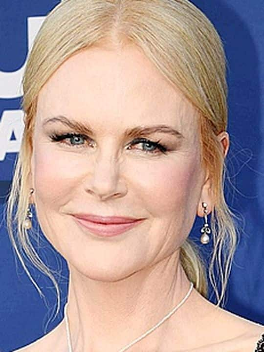 Australian actress Nicole Kidman arrives for the 54th Academy of Country Music Awards on April 7, 2019, at the MGM Grand Garden Arena in Las Vegas, Nevada. (Photo by Robyn Beck / AFP)
