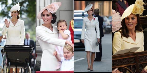 Kate Middleton : elle avait déjà porté trois fois sa robe avant le mariage de Harry et Meghan - La DH