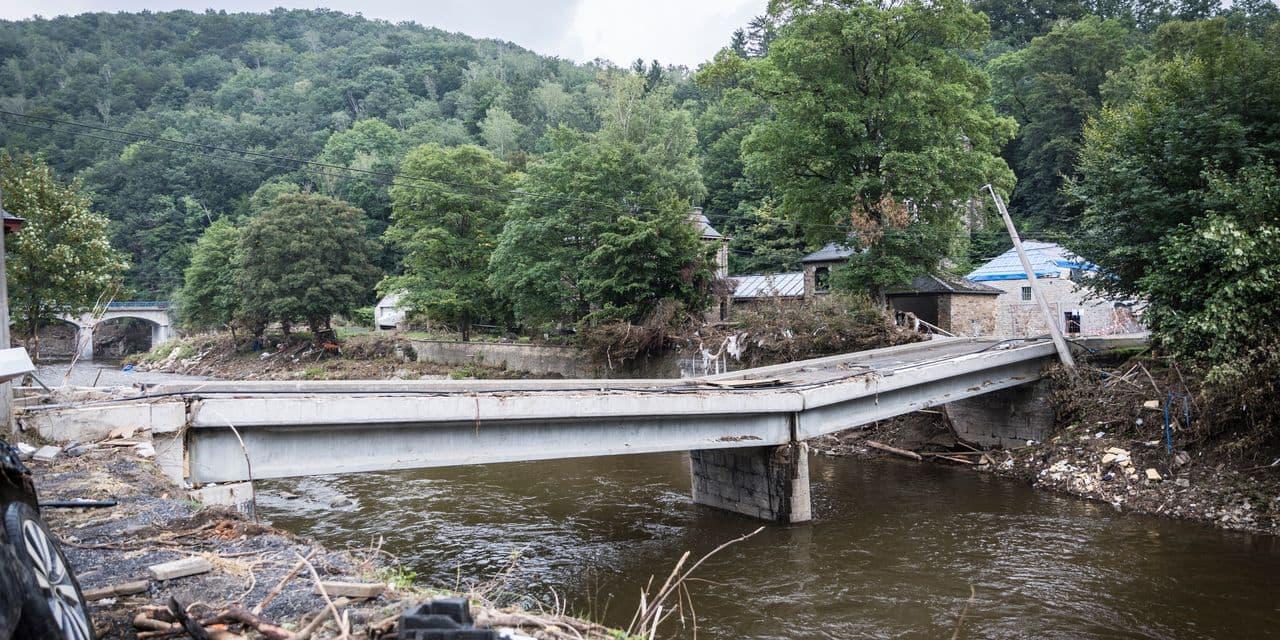 Inondations : des réparations qui coûtent… un pont !