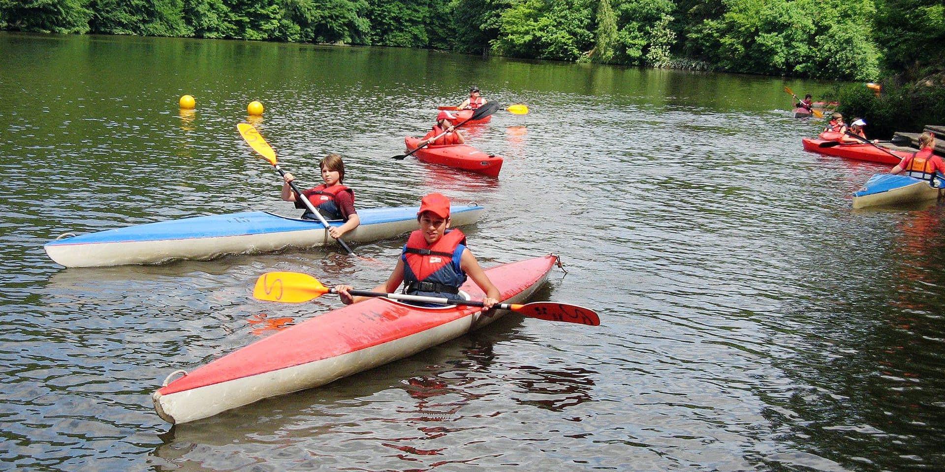 Feu vert pour le kayak sur l'Ourthe