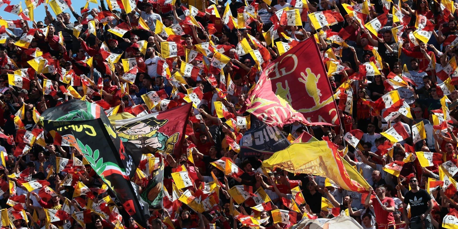 Benevento retrouve l'élite du football italien après deux saisons dans l'antichambre