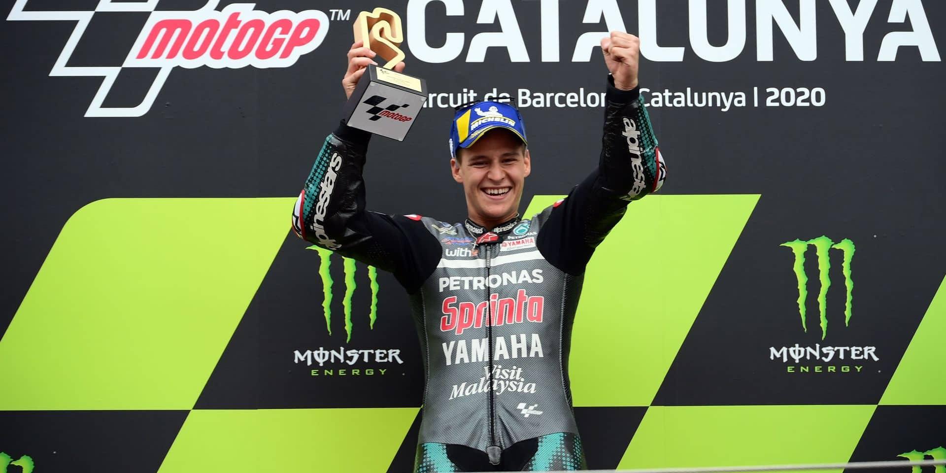 Moto GP: Fabio Quartararo prend la main