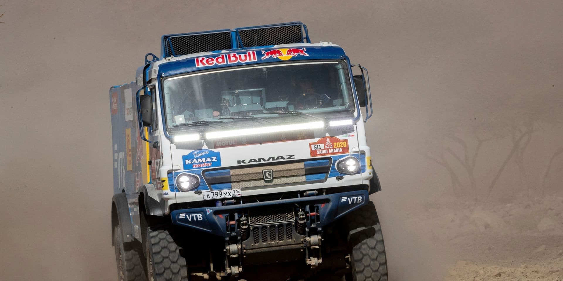 Dakar 2020: Nouvelle victoire de Karginov chez les camions