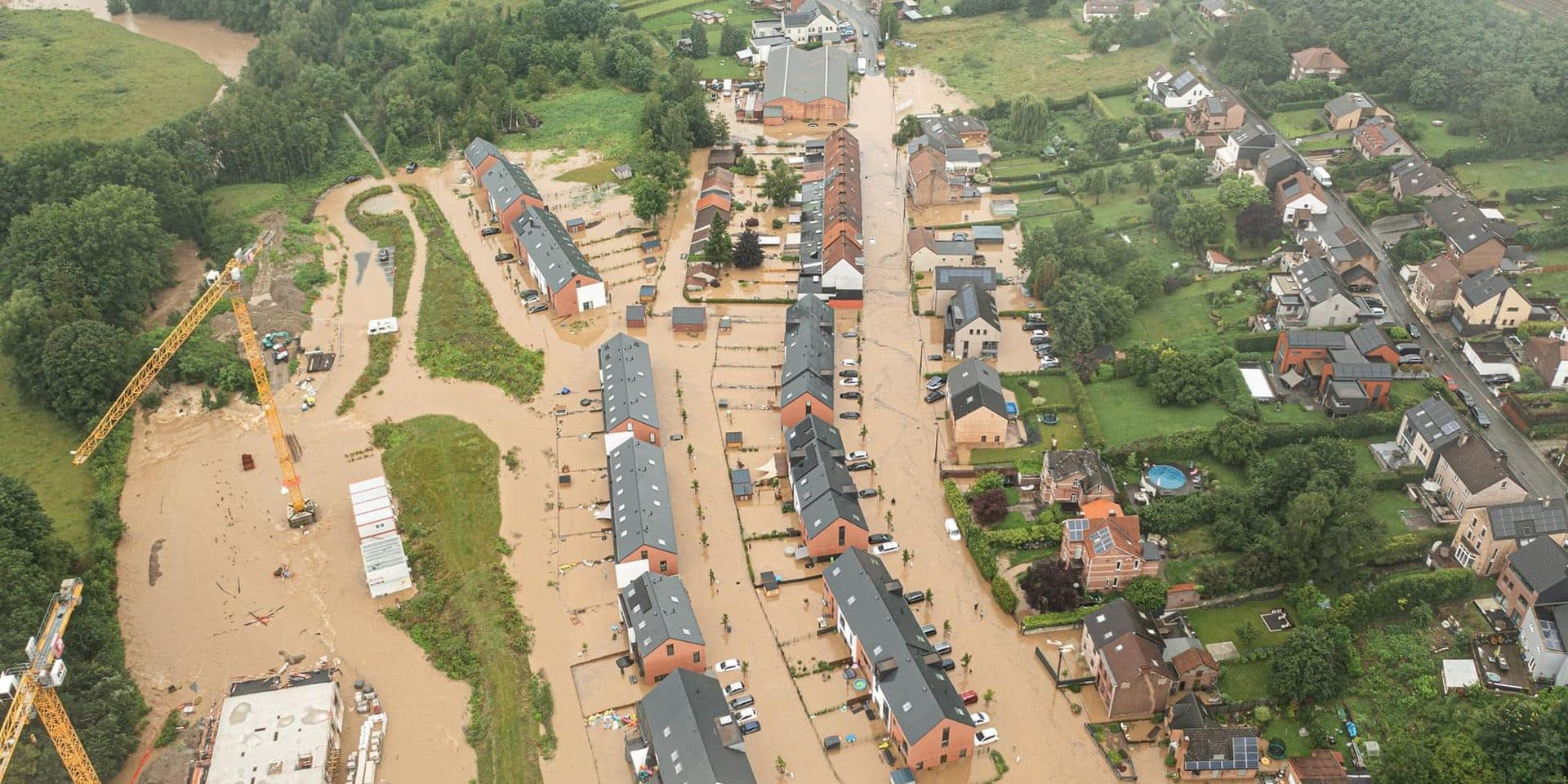 Inondations : les eaux ont envahi Mont-Saint-Guibert (PHOTO + VIDEO)