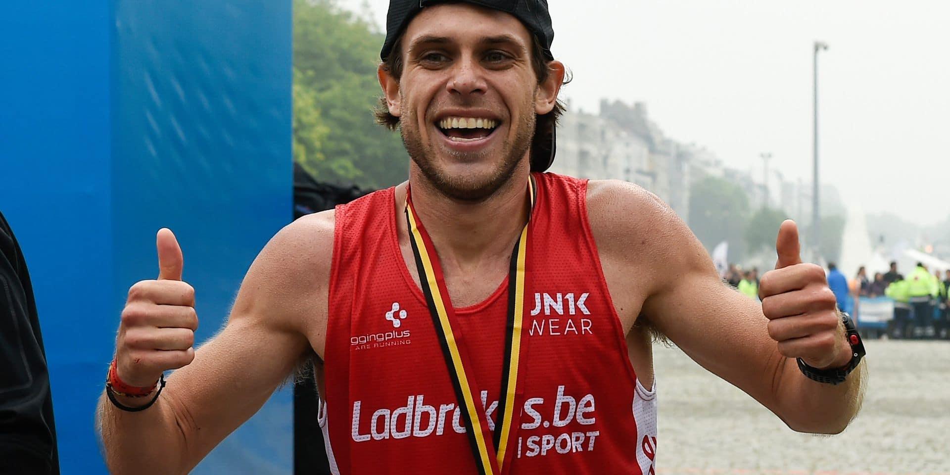 """Valentin Poncelet, lauréat des 20 Km de Bruxelles 2019: """"Je serai prêt quand il le faudra"""""""