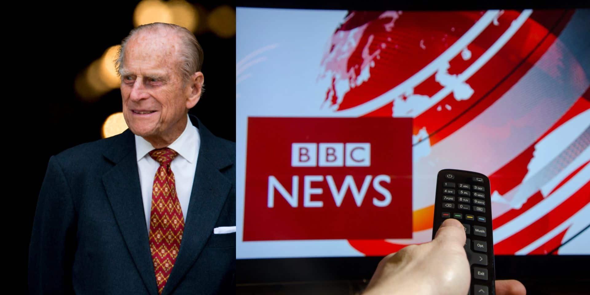 La BBC a reçu 100.000 plaintes à propos de sa couverture de la mort du prince Philip