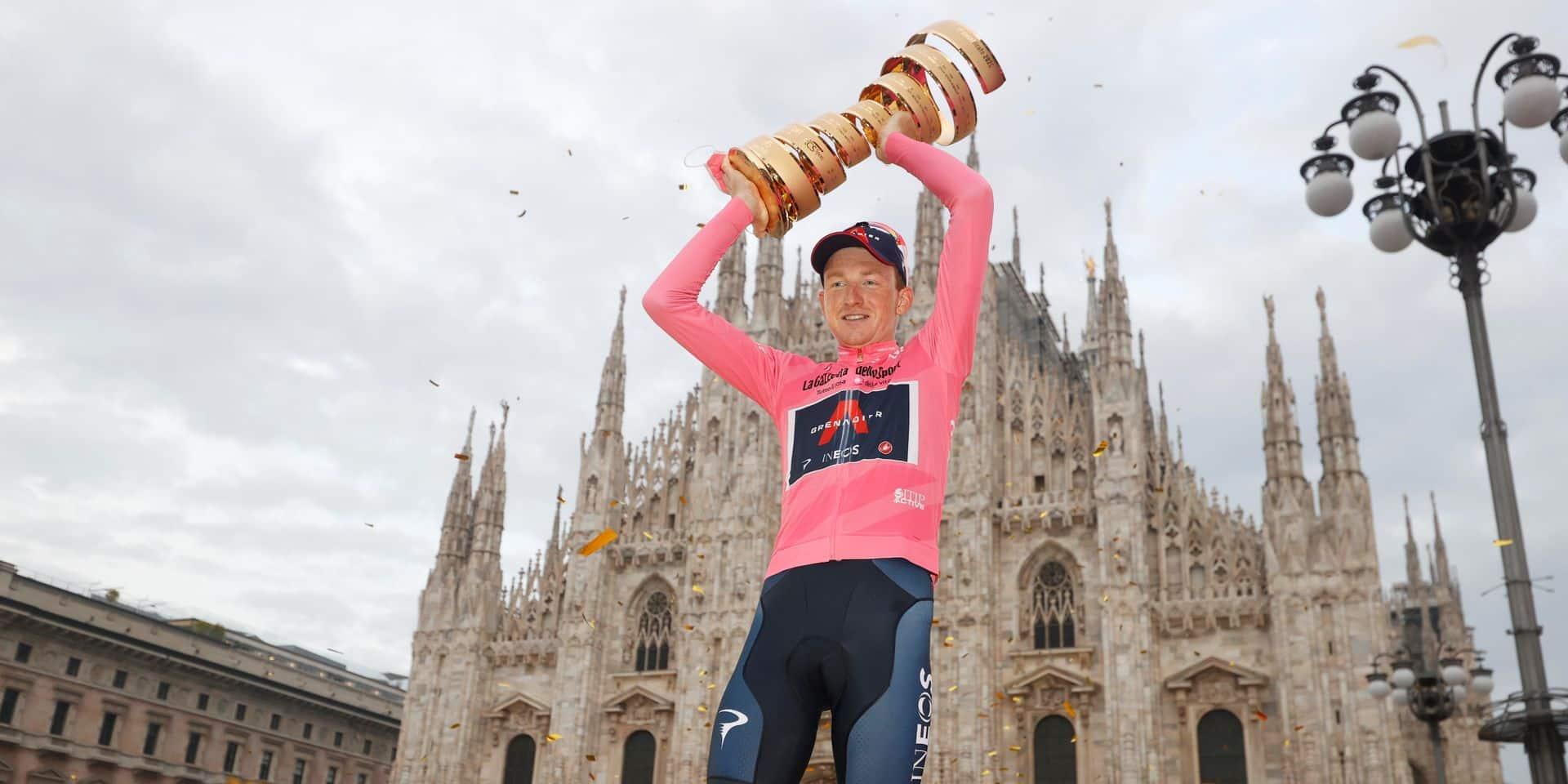 """Tao Geoghegan Hart a parfaitement géré le chrono final: """"Remporter le Giro, c'est un rêve de fou"""""""