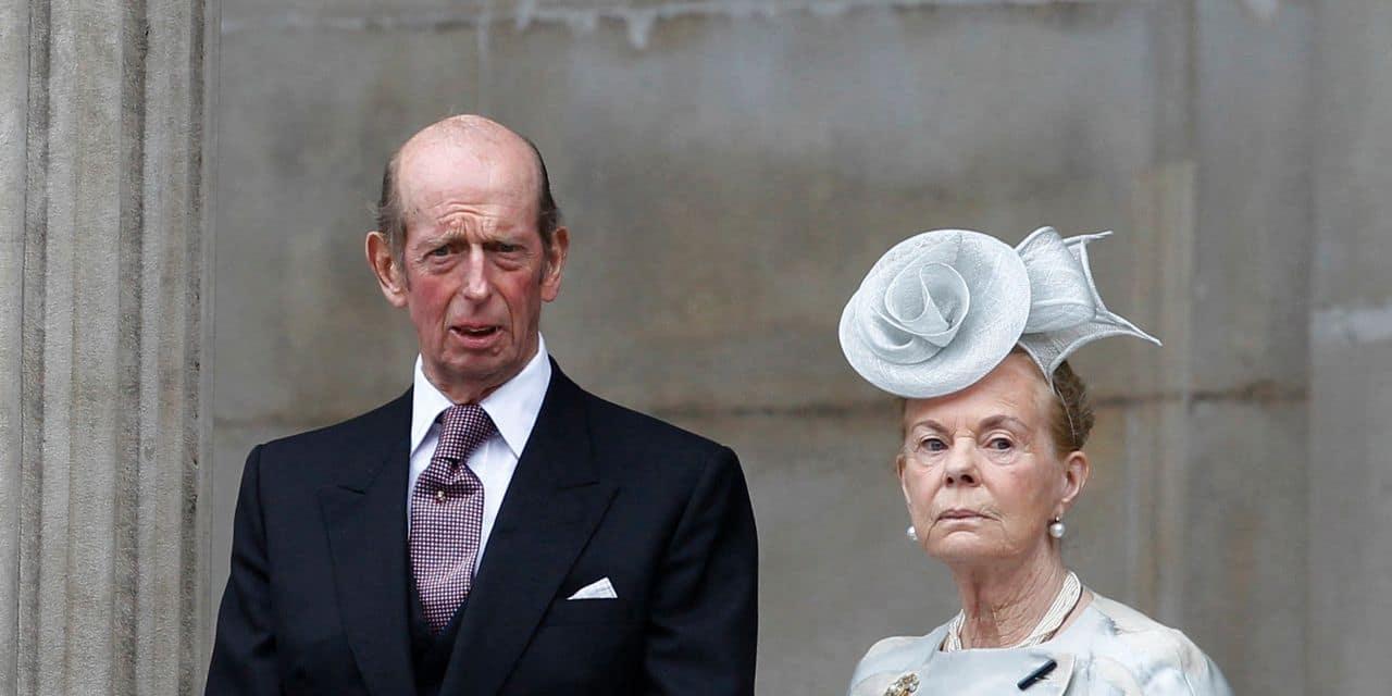 60 ans du mariage du duc et de la duchesse de Kent, sans réjouissances particulières...