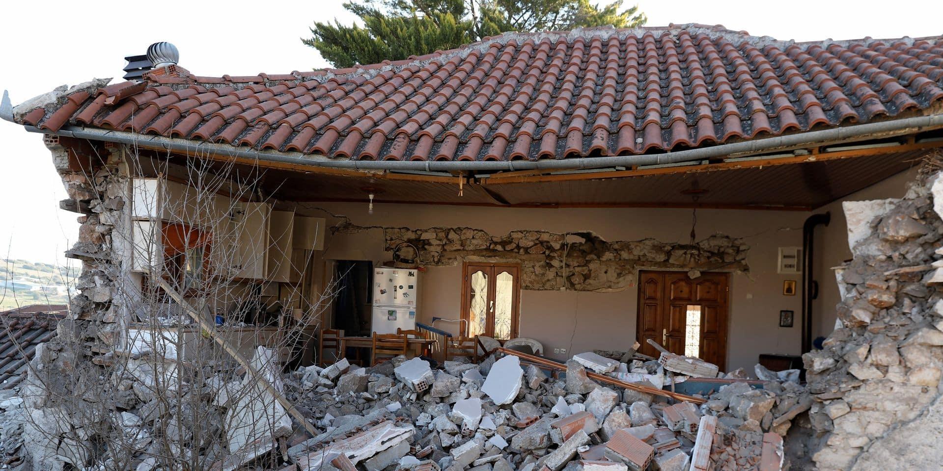 Nouveau séisme dans le centre de la Grèce, de magnitude 5,9