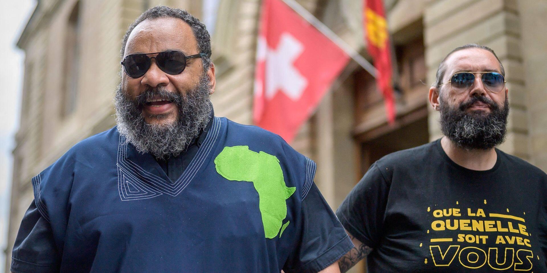 """Dieudonné condamné à une amende en Suisse pour """"discrimination raciale"""""""