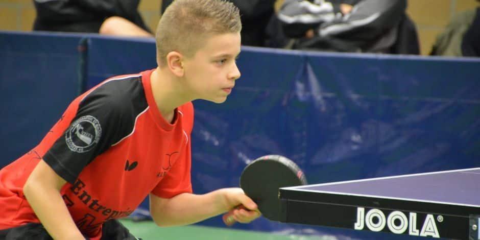 Tennis de table : Alessi Massart en forme