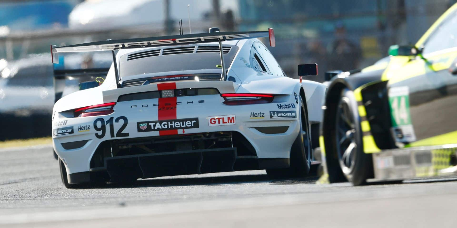 24H Daytona (H+20) : la Porsche de Vanthoor en tête de peu en GTLM, l'Audi WRT 2e du GTD !