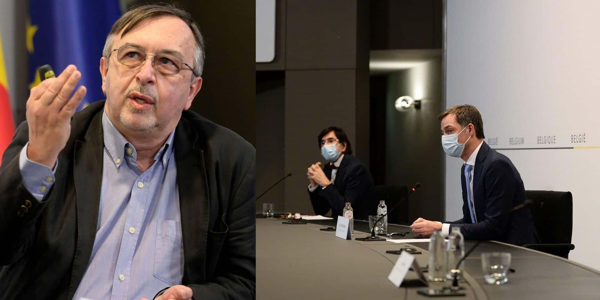 """Yves Van Laethem : """"Le gouvernement veut empêcher la bombe d'exploser"""""""
